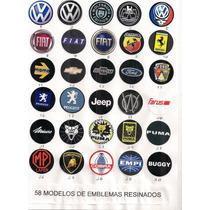 Emblema Resinado Botão De Buzina ,shutt,lenker,lotse,cougar