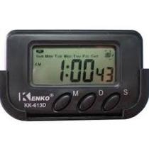 Relogio Digital Para Carro Com Despertador, Cronometro E Dat
