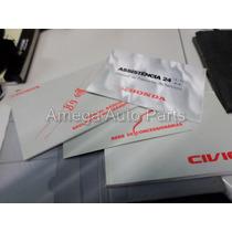 Manual Do Proprietario Honda Civic 2002 Original