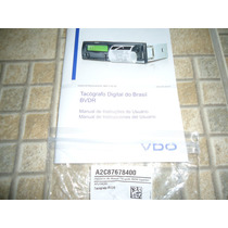 Manual Tacografo Digital Bvdr Vdo + Bobina