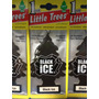 Aromatizante Para Carros Little Trees Aroma Black Ice