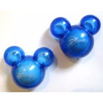 02 Mickey Aromatizador Azul Carro Cheirinho Disney Parks
