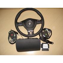 Kit De Airbag Air Bag Do Painel Do Fox E Crossfox 2014 Origi