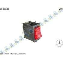 Interruptor Emergência 24v Mercedes Ônibus Caminhão - Kostal
