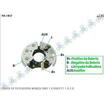 Placa Retificadora Gm Chevette 1.6 - Amefil