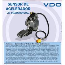 445803001002z - Vdo - Pedal Acelerador Mercedes Eletrônico