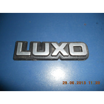 Emblema Luxo- Bonanza/veraneio