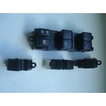 Conjunto De Interruptores De Vidro Eletrico Nissan Tiida