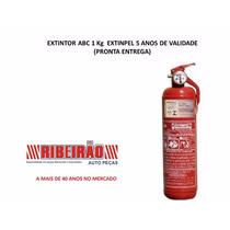 Extintor Incêndio Veicular Abc 5 Anos Novo Comprido 329mm