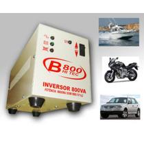 Inversor - Conversor 12v/110v - 500watts Hitec-800 (0,8-kva)