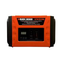 Carregador De Bateria Automatico 40a Black & Decker Bc40