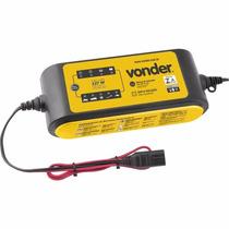 Carregador Inteligente De Bateria 12v 6ah Cib160 127v Vonder