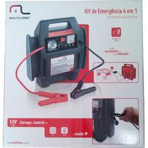 Auxiliar De Partida / Kit De Emergência 4 Em 1 Multilaser