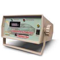 Carregador De Bateria 12v - 20a, Com Amperímetro - Bivol
