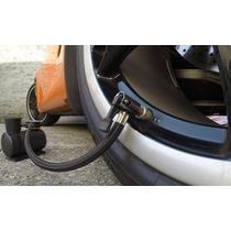 Para Encher Pneus De Carro ,moto ,bola / Mini Compressor Ar