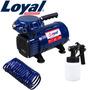 Compressor De Ar Direto 1/3 Hp - 40 Psi C Kit Paint - Loyal