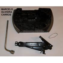 Kit Macaco Original Chave Estepe Roda Aro 14 Palio Fire