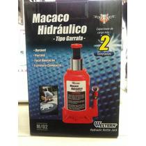 Macaco Hidráulico Original 2 T Garrafa Jacaré Western M/02