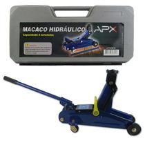 Macaco Hidraulico Tipo Jacaré 2 Toneladas Com Maleta Apx