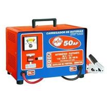 Carregador De Bateria - Cb 50 Af - Okei- 110/220 Volts
