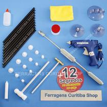 Kit Americano Repuxadeira Martelinho Ouro 80w + 12 Segredos