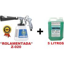 Pistola Limpeza Tornador Black Rolamentada +shampoo Flotador