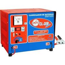 Carregador De Bateria Profissional - Cl-20b