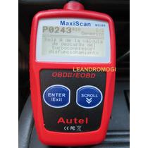 Scanner Automotivo Maxiscan - Obd2 - Não Necessita Pc - Cel.