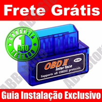 Scanner Diagnóstico Carro Obd2 Mini Bluetooth Pronta Entrega