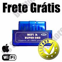 Scanner Diag. Auto Obd2 Wifi Mini Iphone Ipad - Frete Grátis