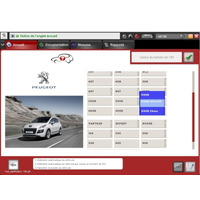 Diagbox (ex.peugeot Planet Office & Citroen Lexia) 2014