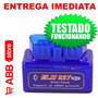 Scanner Automotivo Obd2 Bluetooth Multimarcas Pronta Entrega
