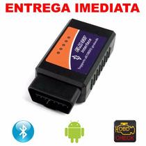Scanner Obd2 Diagnostico Carro V2.1 Bluetooth - Frete Grátis
