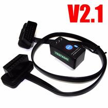 Scanner Diagnostico Carro Obd2 Bluetooth On / Off + Extensão