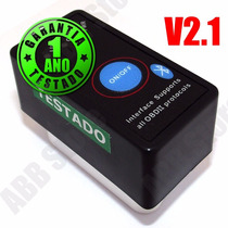 Scanner Diagostico Auto Obd2 V2.1 Bluetooth On/off Promoção