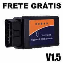 Scanner Diag.automotivo Obd2 V1.5 Bluetooth Frete Grátis