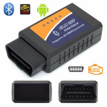 Scanner Diagnóstico Automotivo Elm327 Obd2 Bluetooth
