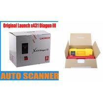 Original- Scanner Automotivo Launch X431 Diagun Iii-completo