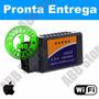 Scanner Diag. Carro Obd2 Wifi Iphone Ipad Apple - Promoção