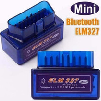 Elm327 V2.1 Obd2 Ii Bluetoth Diagnostic Car Auto Interface P