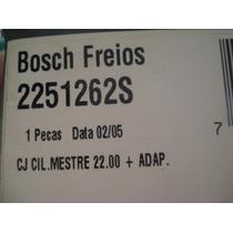 Cilindro Mestre Escort Verona Apollo Até 92 Bosch Bendix