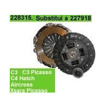 228315 Kit Embreagem Valeo Citroen C4 Hatch 1.6 16v