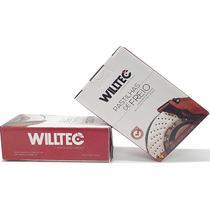 Pastilha Willtec Dianteira Volvo C30 C70 S40 V50 01/ Pw733p