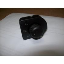 Botão Retrovisor Eletrico C/ Des. Golf - Bora - Passat