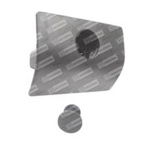 Fecho Porta-luvas C/alojamento P/cilindro Cinza Polo Classic