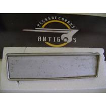 Tapa Buraco Rádio, Peça Inox, Carro Antigo