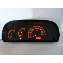 Palio Fire 238 Uno Siena Painel Velocimetro Temperatura ,,