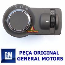 Botão Chave Interruptor Do Farol Gm 95291935 Onix Montana