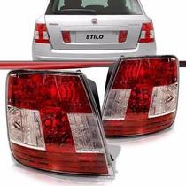 Lanterna Traseira Stilo 2008 2009 2010 2011 Vermelha Canto