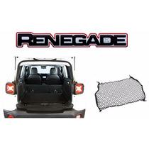 Rede Porta Malas Do Jeep Renegade Rede De Retenção - Auto330